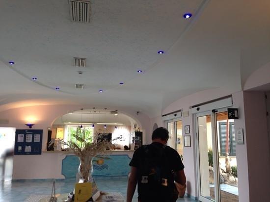 Hotel Terme Cristallo Palace: la hall