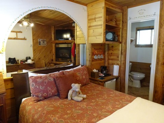 Heavenly Valley Lodge Bed & Breakfast : The squirrel room
