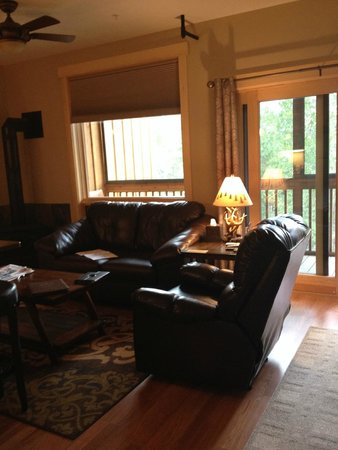 Twisp River Suites: living room area