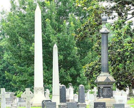 Historic Oakwood Cemetery : view