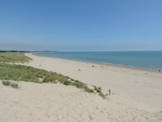 Curracloe Beach: Taken from a sand dune