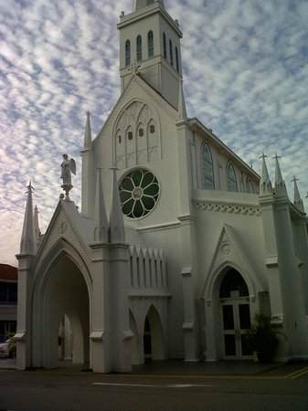 The Church Of Our Lady Of Lourdes: church exterior