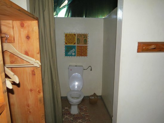 Tarangire Safari Lodge : Toilet