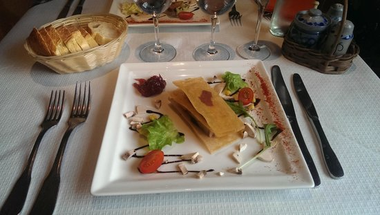 Le Vent d'Est : Mille feuille de foie gras