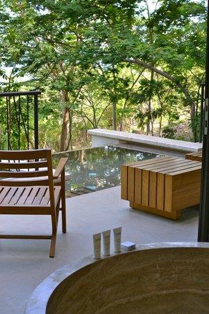 Andaz Peninsula Papagayo Resort : balcony of large Andaz suite