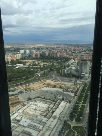 Eurostars Madrid Tower : vistas