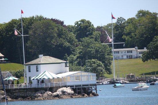 Rhode Island Bay Cruises: Tiny Lime Rock Lighthouse