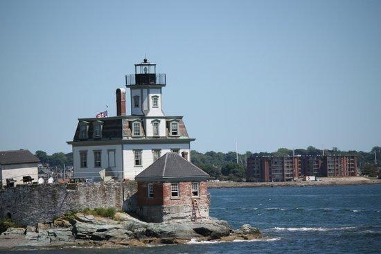 Rhode Island Bay Cruises: Rose Island Lighthouse