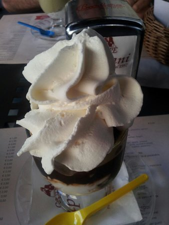 Caffe Cipriani: Granita caffè con panna