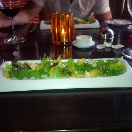 Dreams Riviera Cancun Resort & Spa : Bourdeus Salad