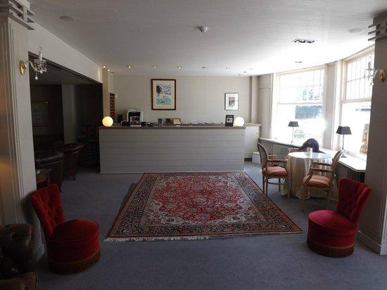 Aquilon Boutique Hotel: reception