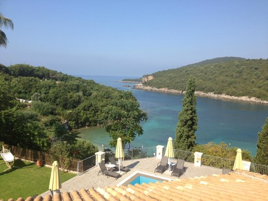 Domotel Agios Nikolaos: Stunning view from the breakfast terrace