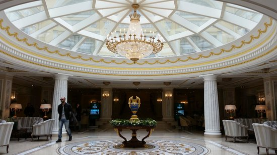 The State Hermitage Museum Official Hotel : Main Entry, near reception