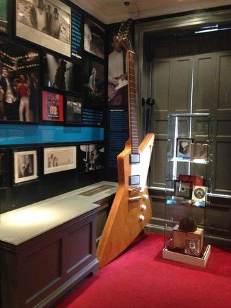 The Little Museum of Dublin: U2 Room