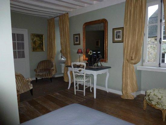 Hotel Tanquerey de la Rochaisiere : Chambre Chausey