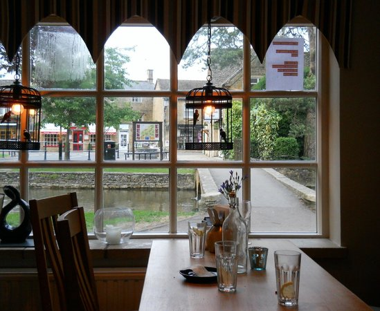 The Croft Restaurant: The view