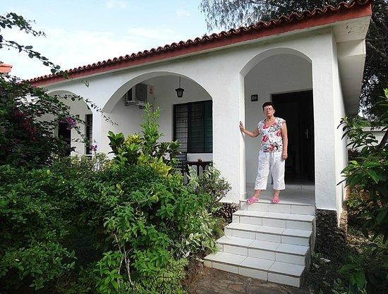 Diani Sea Lodge : terrace of room