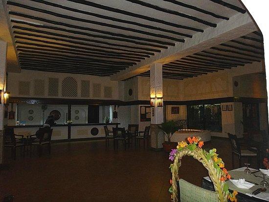Diani Sea Lodge: reception
