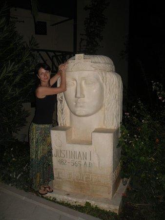 Justiniano Club Alanya: территория