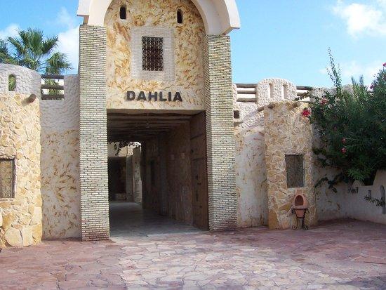 Club Marmara Dahlia : entrée de l'hôtel