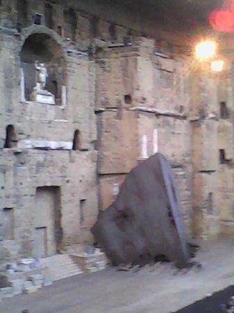 Théâtre Antique d'Orange : Mur de scène