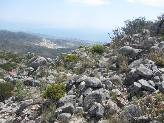 Teleferico Benalmadena : rocaille