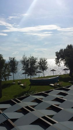 Sensimar Oceanis Beach & Spa Resort: Early morning sun