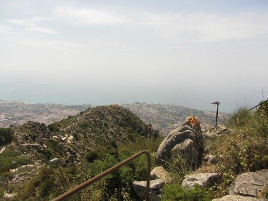 Teleferico Benalmadena : une des vues du point le plus haut