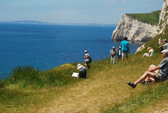 Lulworth Cove and Durdle Door : The View