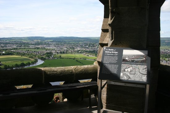 National Wallace Monument: View from the top