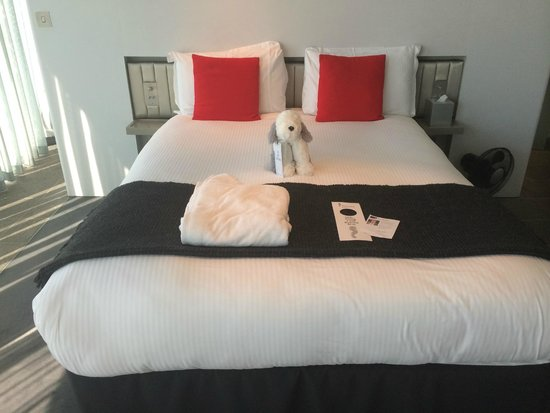 The Midland: Obviously the bed!