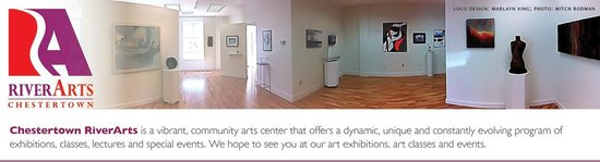 River Arts Chestertown: Panoramic of the gallery