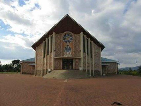 Our Lady of Kibeho Shrine.  Rwanda.
