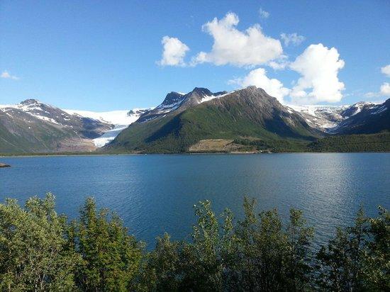 The Svartisen Glacier Austerdalsisen