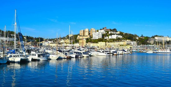 The Sandpiper Guest House: Torquay Harbour