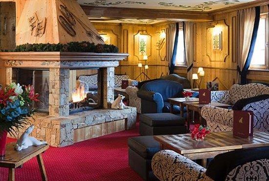 Hotel L'ours Blanc : Le Salon