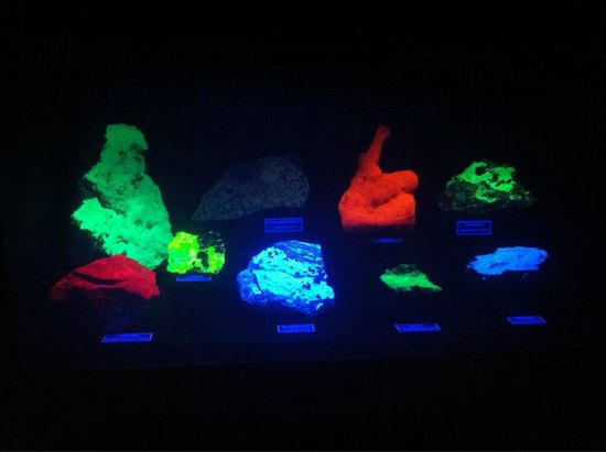 Mineral Museum of Michigan: Colorful presentation