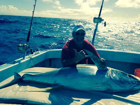 Captain Don's Sportfishing: This fella makes me look kinda small
