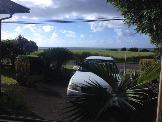 Hana Accommodations: View from the window
