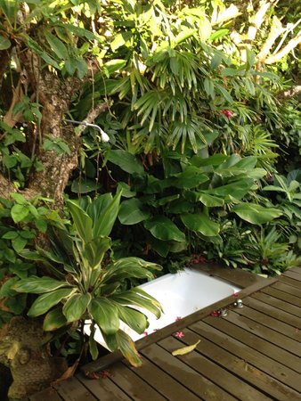 Hana Accommodations: Private outdoor shower/tub
