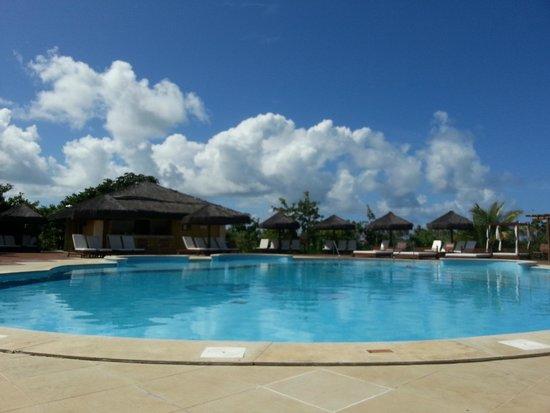 Grand Palladium Imbassai Resort & Spa: Piscina da área de adultos, proibida entrada de crianças