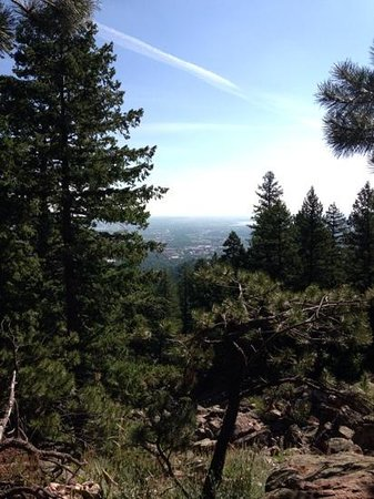 Flatirons : boulder city views