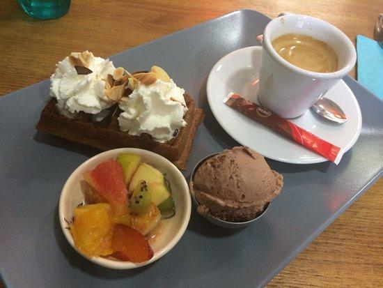 La Princière : Cafe gourmand