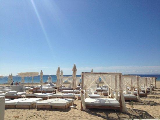 Ushuaia Ibiza Beach Hotel: beach club