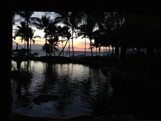Grand Wailea - A Waldorf Astoria Resort : View from Humu restaurant