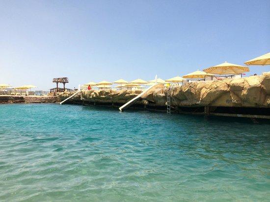 SUNRISE Holidays Resort : Die Badebucht