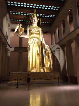The Parthenon: Athena is pretty cool,  not sure why this is in Tennessee but cool anyway