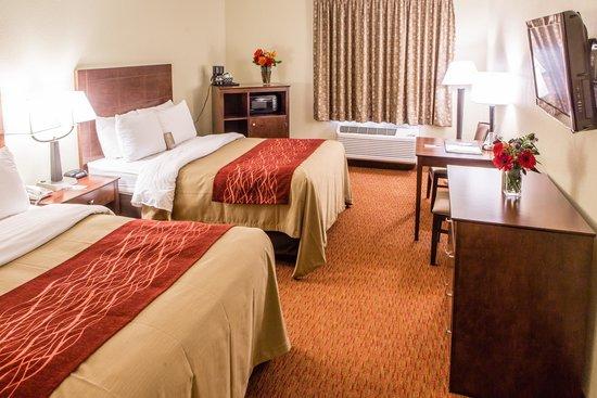 Quality Inn: Double Beds