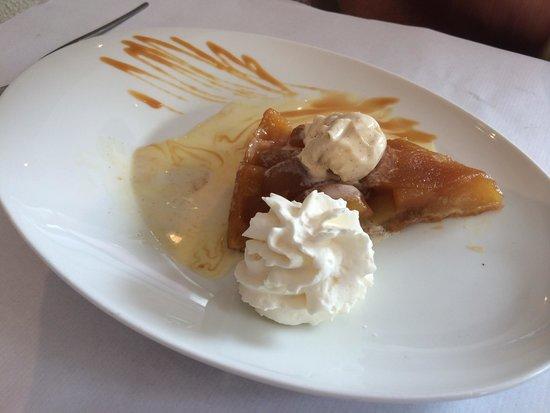 La Romana : Amazing tarte tartin.