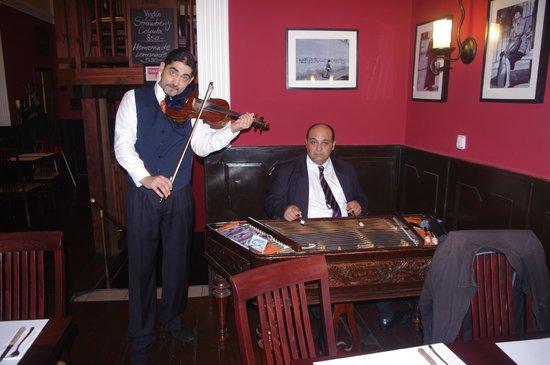 Rose Restaurant: Les musiciens